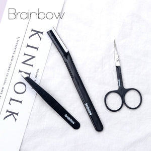 Brainbow Eyebrow Razor