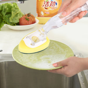 Dishes Clean Sponge