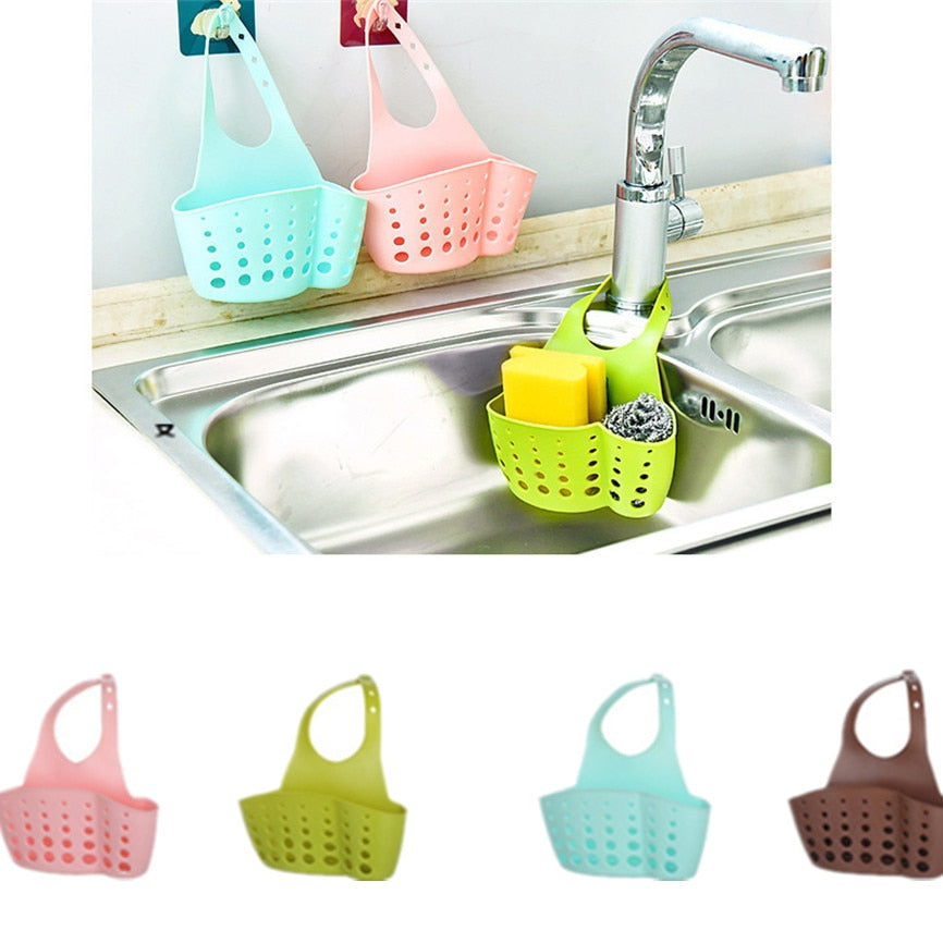 Sink Shelf Soap Sponge Holder