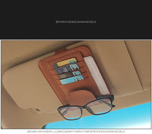 Load image into Gallery viewer, Sunglasses Car Storage Clip