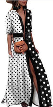 Load image into Gallery viewer, Vintage Polka Dot Print Dress