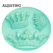 Load image into Gallery viewer, Crown Shape Silicone Mold