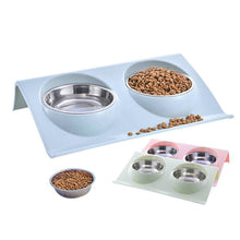 Load image into Gallery viewer, Teddy Dog Cat Food Basin