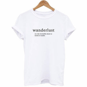 Wanderlust Definition T Shirt