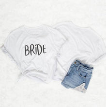 Load image into Gallery viewer, Team Bride Couple t-shirt