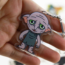 Load image into Gallery viewer, 3D Harry Potter Key Chain