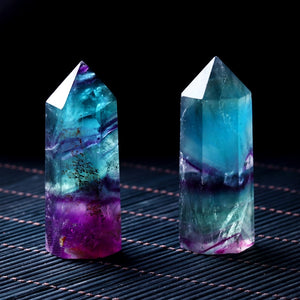 Fluorite Hexagonal Column