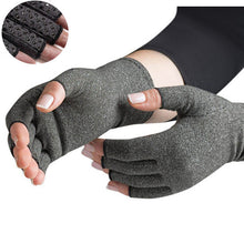 Load image into Gallery viewer, Anti Skid Compression Gloves