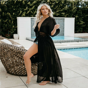 Chiffon Bikini Long Cover Up