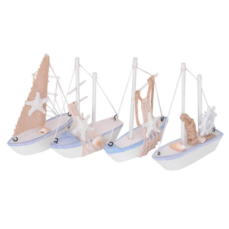 Wood Sailboat Model