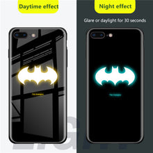 Load image into Gallery viewer, Super Heroes Luminous Phone Case