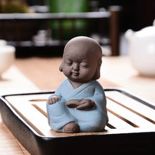 Load image into Gallery viewer, Ceramic Monk Buddha Statue