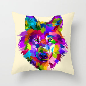 Animal Pillow Cover