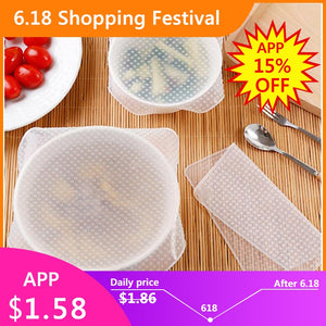 Reusable Silicone Wrap Seal Food