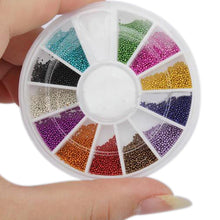 Load image into Gallery viewer, Multicolor Nail Art  Bead