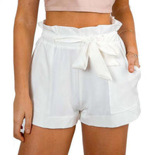 Load image into Gallery viewer, Casual High Waist Crepe Shorts