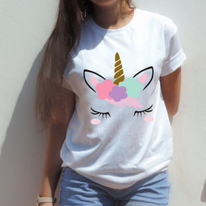 Cartoon Graphic Printed Women T Shirts