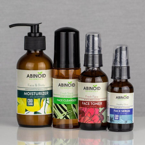 Hemp CBD Skin Care Kit