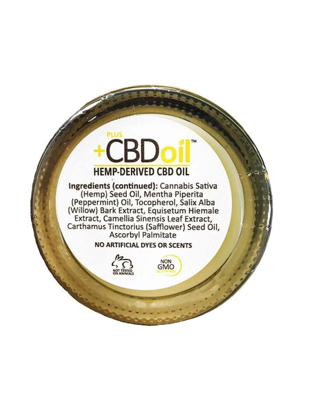Hemp Oil Balm Extra Strength - 100mg (1.3 oz) Back