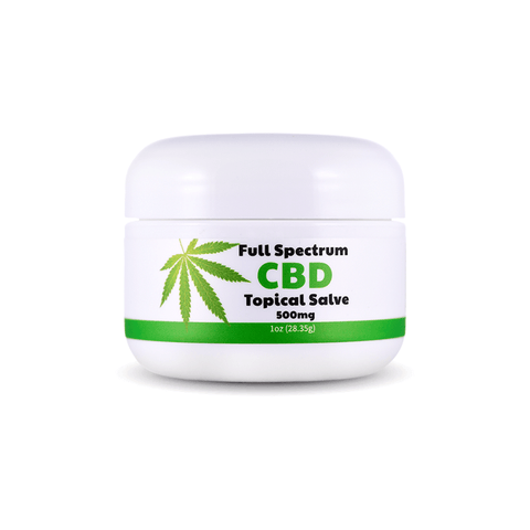 Full Spectrum CBD Topical Salve - 500mg (1 oz)