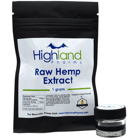 Raw CBD Hemp Extract