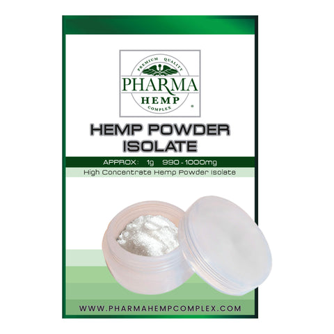 pharma hemp isolate powder