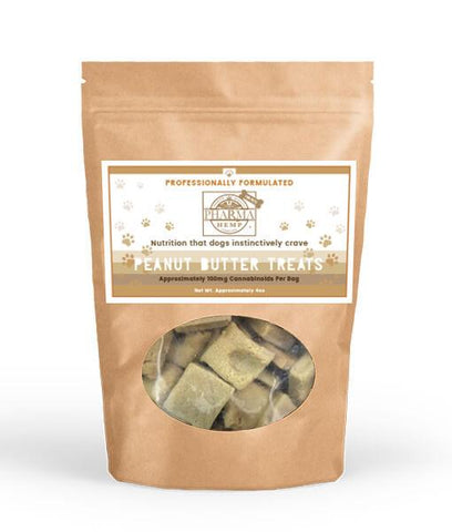 CBD Peanut Butter Dog Biscuits - 100mg