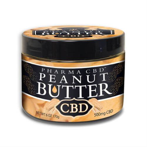CBD Infused Peanut Butter - 500mg