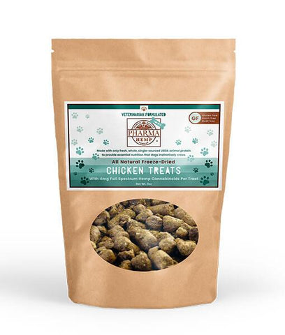 All Natural Freeze-Dried CBD Treats