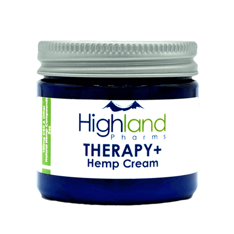 Therapy+ Hemp CBD Cream - 100mg (2 oz)