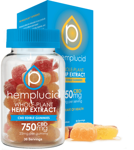 Whole-Plant Extract CBD Gummies