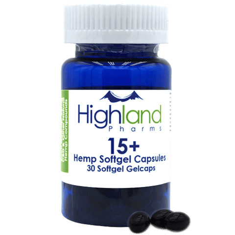 Hemp Softgel Capsules