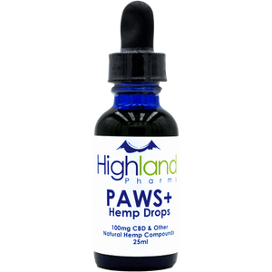 Paws+ Pet CBD Oil Drops - 100mg