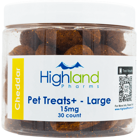 Pet Treats+ Large Hemp CBD Treats - 15mg (30 ct.)