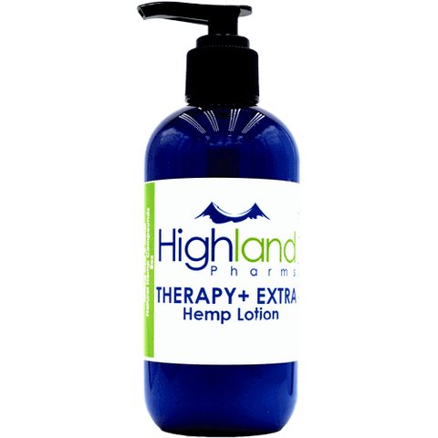 Therapy+ Extra CBD Hemp Lotion - 400mg (4 oz)