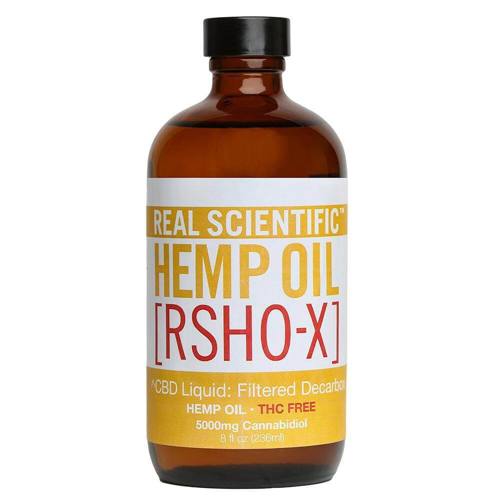 RSHO-X Liquid Hemp Oil - 5000mg (8 oz)