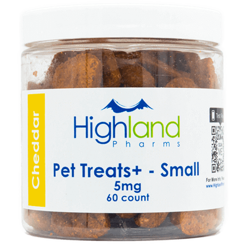 Pet Treats+ Small Hemp CBD Treats (60 ct.)