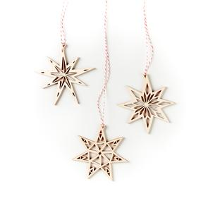Light and Paper - Stars Ornaments