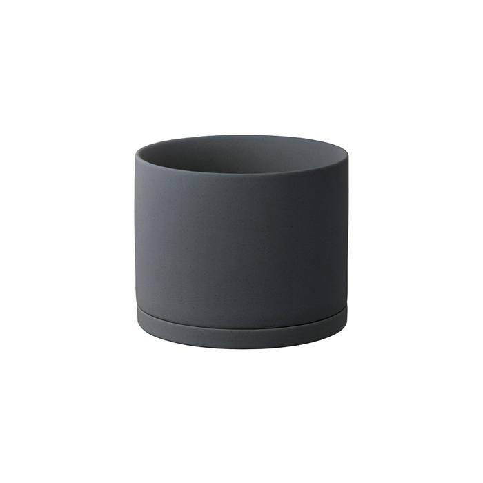 Kinto - plant pot dark gray