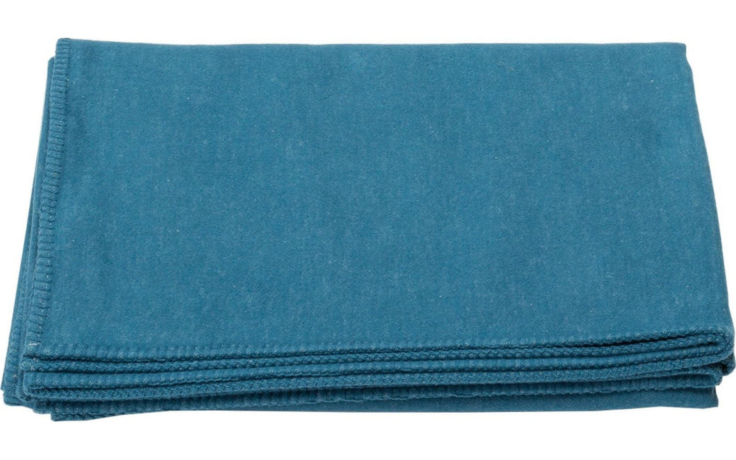 DF Blanket- Solid blanket stitch- Atlantic