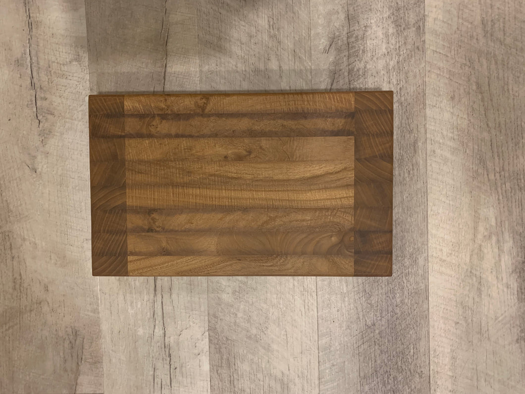 Jason Fahlman - mixed wood cutting board 15x9