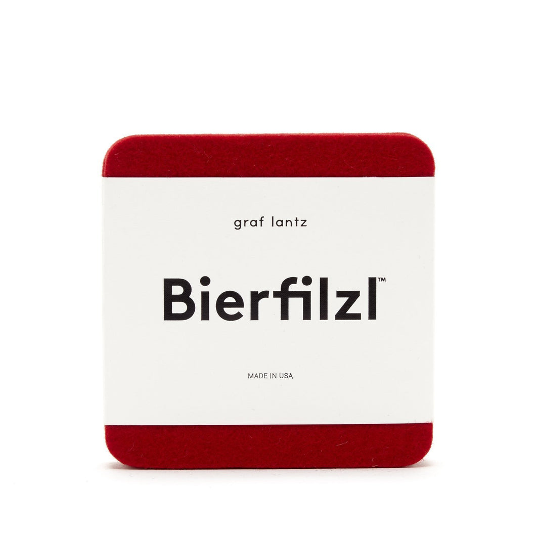 Graf Lantz - Coaster Square set/4 (Red)