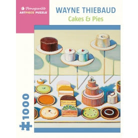 Pomegranate- Wayne Theibaud: Cakes and Pies