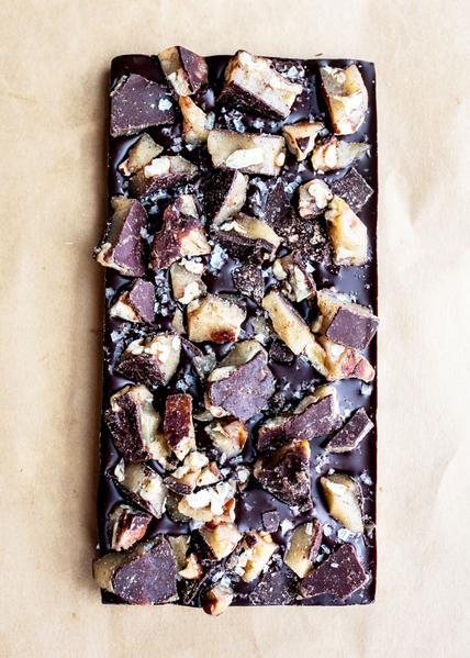 Wildwood Chocolate - Salted Brown Butter Texas Pecan Brittle Bar