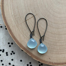 Load image into Gallery viewer, Dana Herbert - Chalcedony Earrings