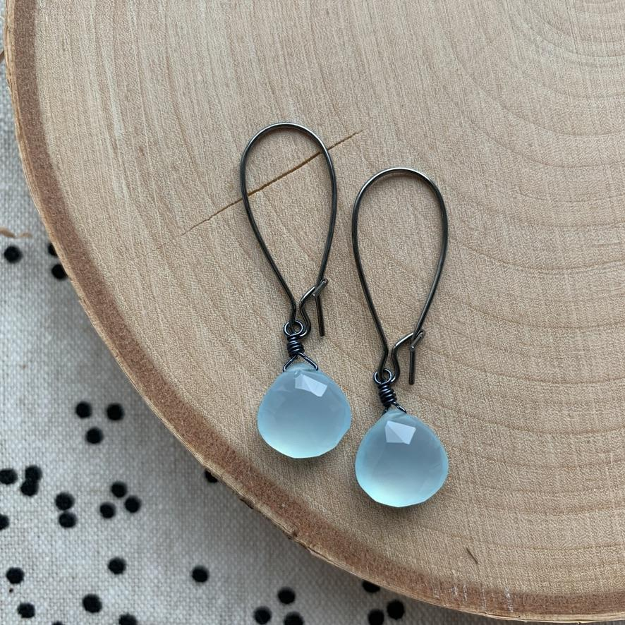Dana Herbert - Chalcedony Earrings