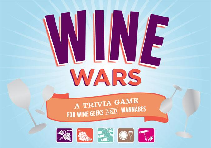 Chronicle Books - Wine Wars Trivia
