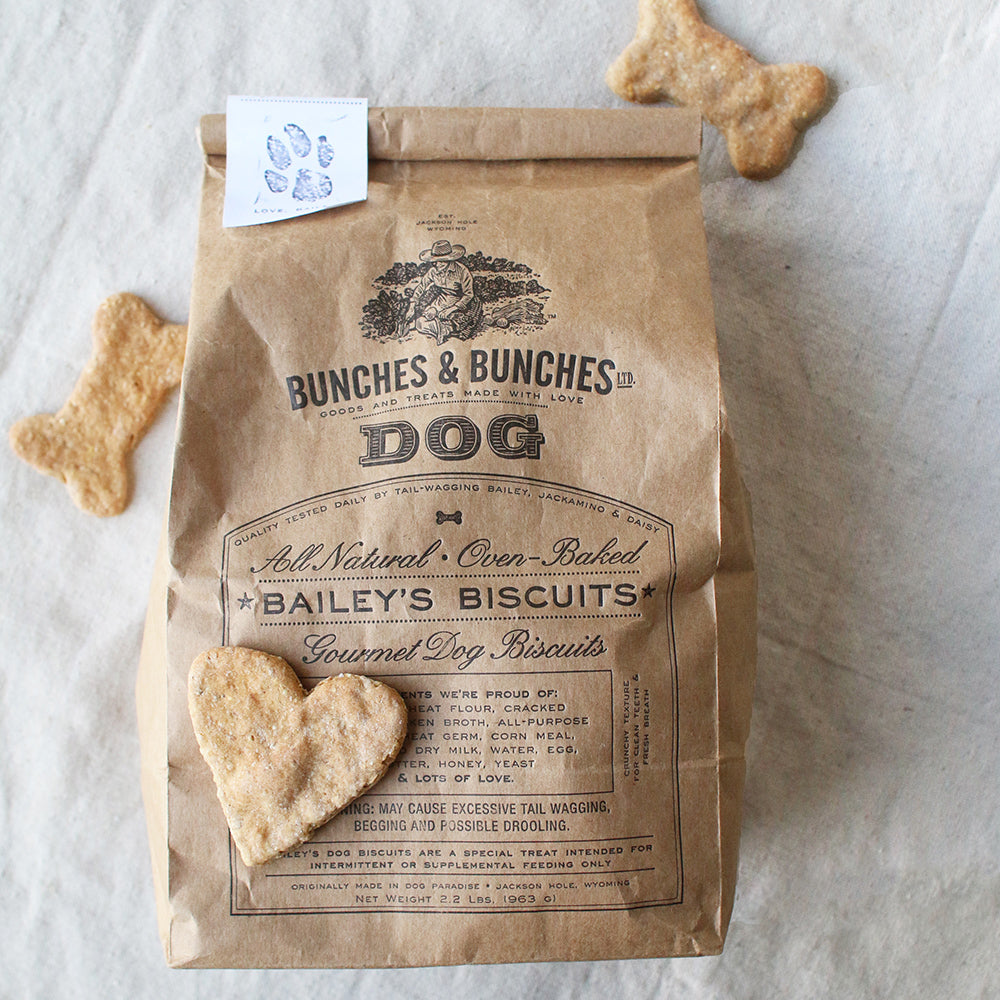 Bunches and Bunches - Bailey's Dog Biscuits