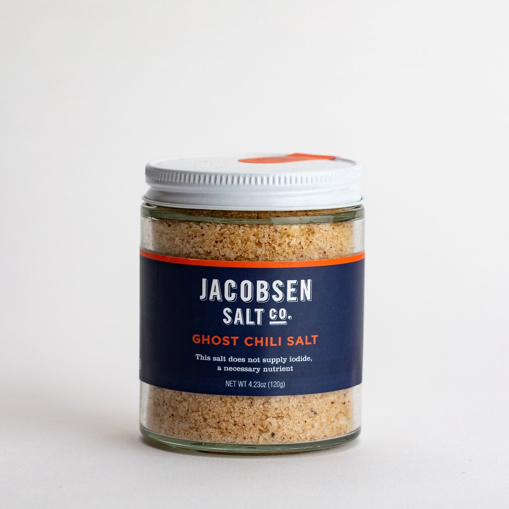 Jacobsen Salt- Ghost Chili Infused Salt