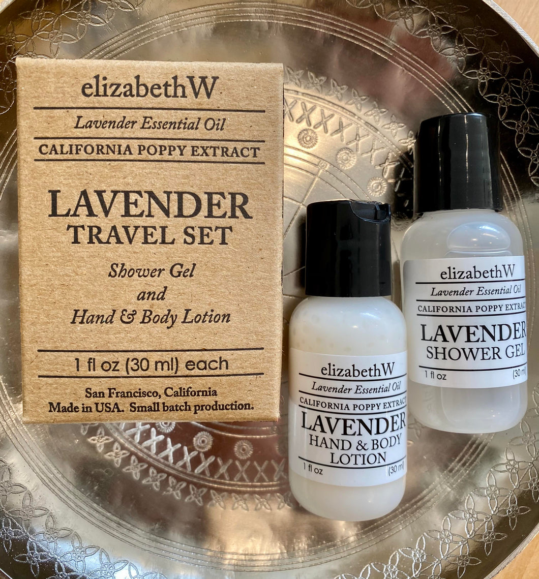 Elizabeth W - Gel and Lotion Set - Lavender